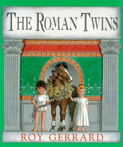 The Roman Twins: Roy Gerrard, Roy Gerrard (Illustrator)