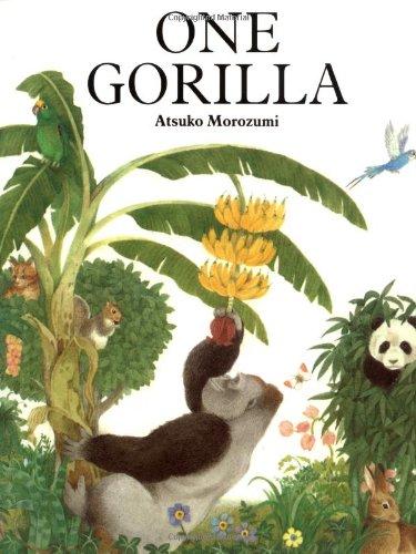 One gorilla a counting book by morozumi atsuko square for Square fish publishing