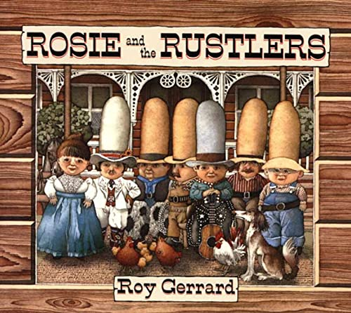 9780374463397: Rosie and the Rustlers (USA Edition) (Sunburst Book)