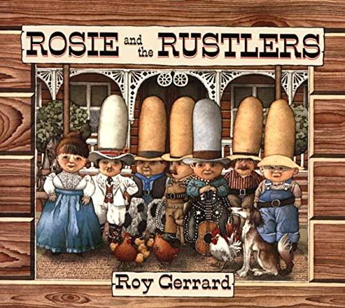 Rosie and the Rustlers (Sunburst Book): Gerrard, Roy