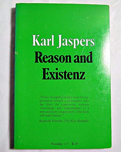 9780374500603: Reason and Existenz (Noonday Paperbacks)