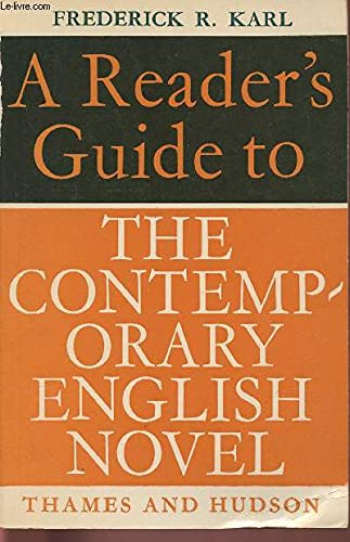 9780374502454: A Reader's Guide to the Contemporary English Novel