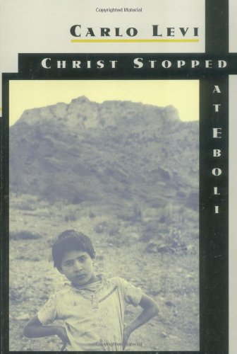 9780374503161: Christ Stopped at Eboli: The Story of a Year [Lingua Inglese]