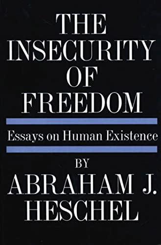 9780374506087: INSECURITY OF FREEDOM PB