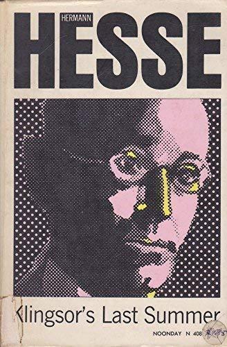 Klingsor's Last Summer: Hermann Hesse