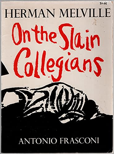 9780374509545: On the Slain Collegians