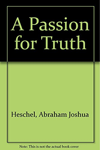 9780374511845: A Passion for Truth