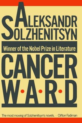9780374511999: Cancer Ward: A Novel (FSG Classics)