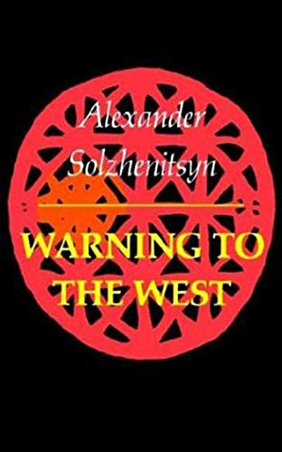 9780374513344: WARNING TO THE WEST