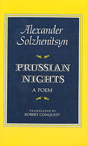 9780374513917: Prussian Nights: A Poem (Bilingual ed. Tr from Russian)