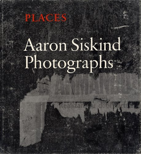 Places: Photographs: Siskind, Aaron