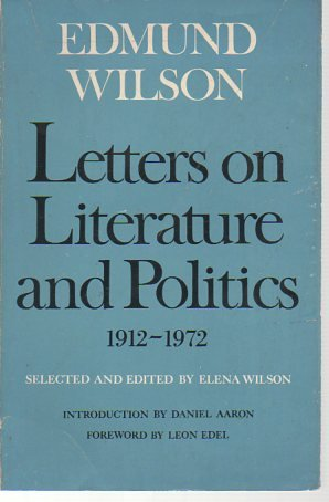 9780374514839: Letters On Literature and Politics 1912