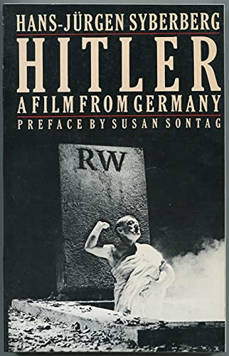 9780374515652: Hitler, a film from Germany