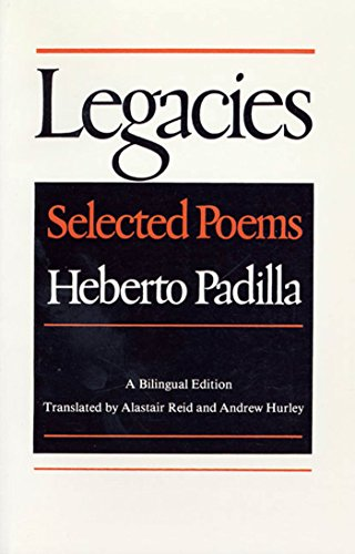 9780374517366: Legacies: Selected Poems