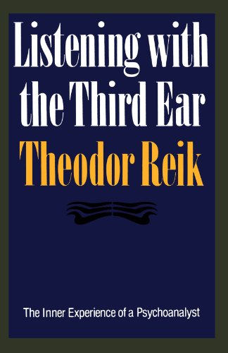 9780374518004: Listening With the Third Ear: The Inner Experience of a Psychoanalyst