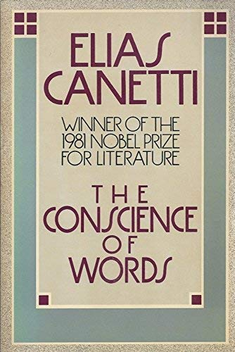 9780374518813: The Conscience of Words
