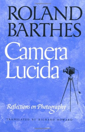 9780374521349: Camera Lucida: Reflections on Photography