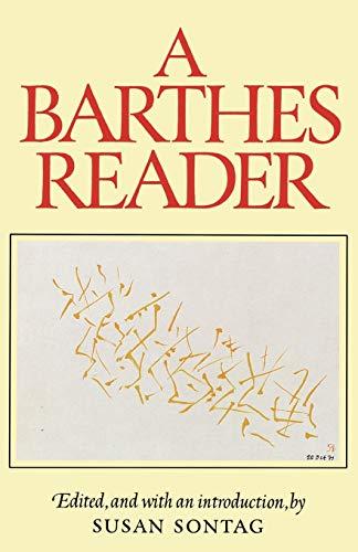 9780374521448: A Barthes Reader