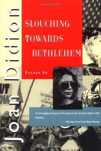 9780374521721: Slouching toward Bethlehem