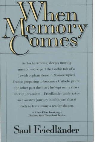9780374522728: When Memory Comes