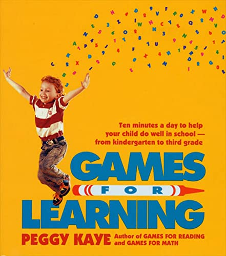 9780374522865: Games for Learning: Ten Minutes a Day to Help Your Child Do Well in School―From Kindergarten to Third Grade