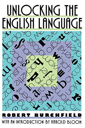 9780374523398: Unlocking the English Language