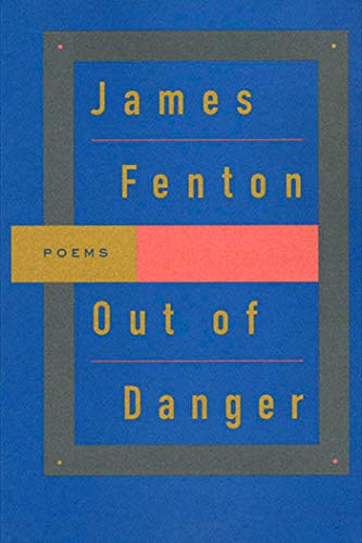 9780374524371: Out of Danger: Poems