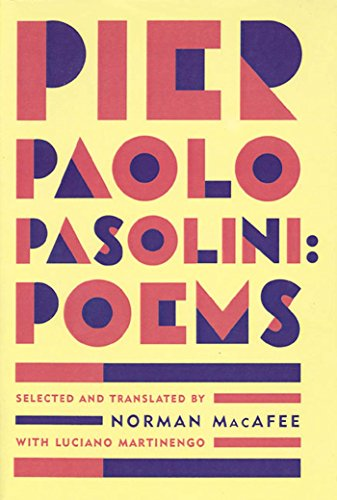 9780374524692: PIER PAOLO PASOLINI: POEMS