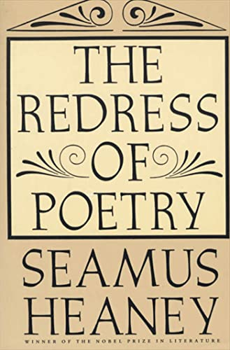 9780374524883: The Redress of Poetry