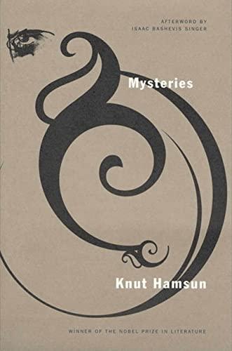 9780374525279: Mysteries: A Novel