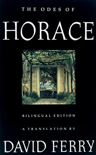 9780374525729: The Odes of Horace