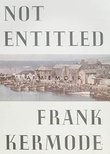 9780374525927: Not Entitled: A Memoir