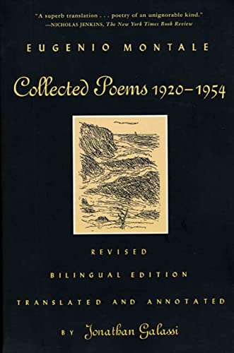 Collected Poems, 1920-1954 (Spanish Edition): Montale, Eugenio