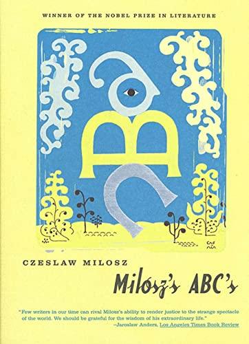 9780374527952: Milosz's ABC's