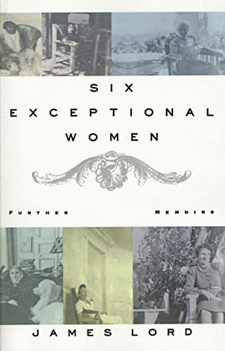 9780374528362: Six Exceptional Women: Further Memoirs