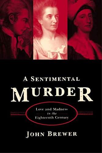 SENTIMENTAL MURDER: Brewer, John