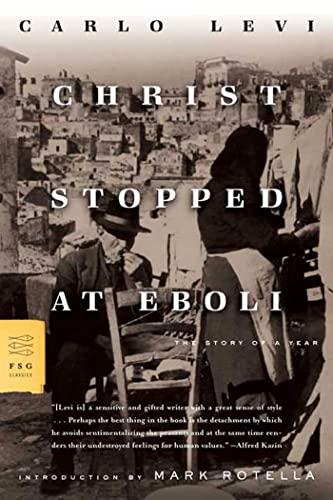 9780374530099: Christ Stopped at Eboli: The Story of a Year