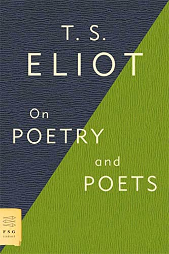 9780374531973: On Poetry and Poets