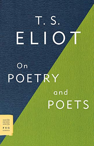 9780374531973: On Poetry and Poets (FSG Classics)