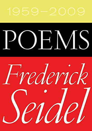 9780374532192: Poems 1959-2009