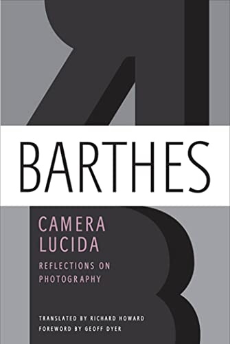 9780374532338: Camera Lucida: Reflections on Photography