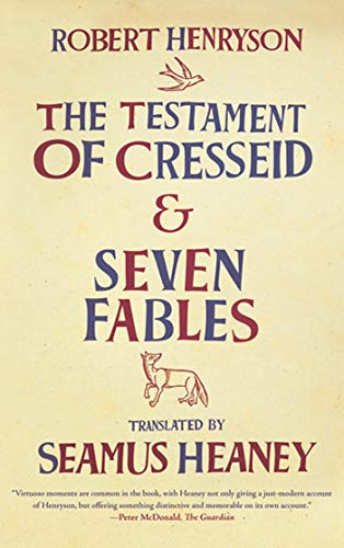 9780374532451: The Testament of Cresseid and Seven Fables