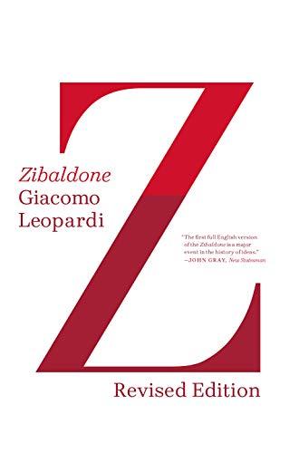 9780374534646: Zibaldone