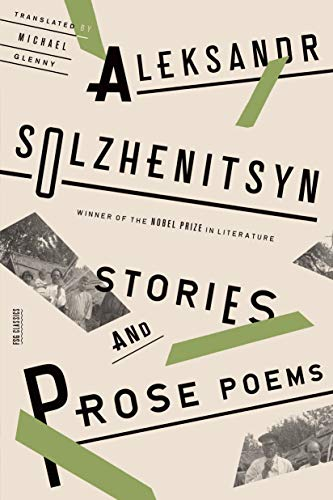 9780374534721: Stories and Prose Poems