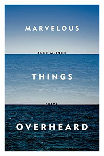 9780374534806: Marvelous Things Overheard: Poems