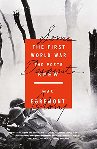 9780374535445: Some Desperate Glory: The First World War the Poets Knew