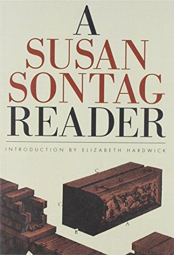9780374535476: A Susan Sontag Reader