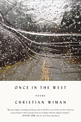 9780374535704: Once in the West: Poems