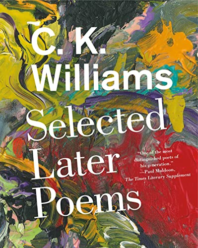 9780374536565: Selected Later Poems