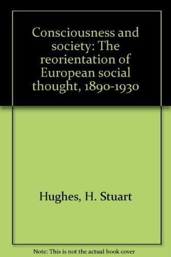 Consciousness and society book online array 9780374940300 consciousness and society the reorientation of rh abebooks fandeluxe Images